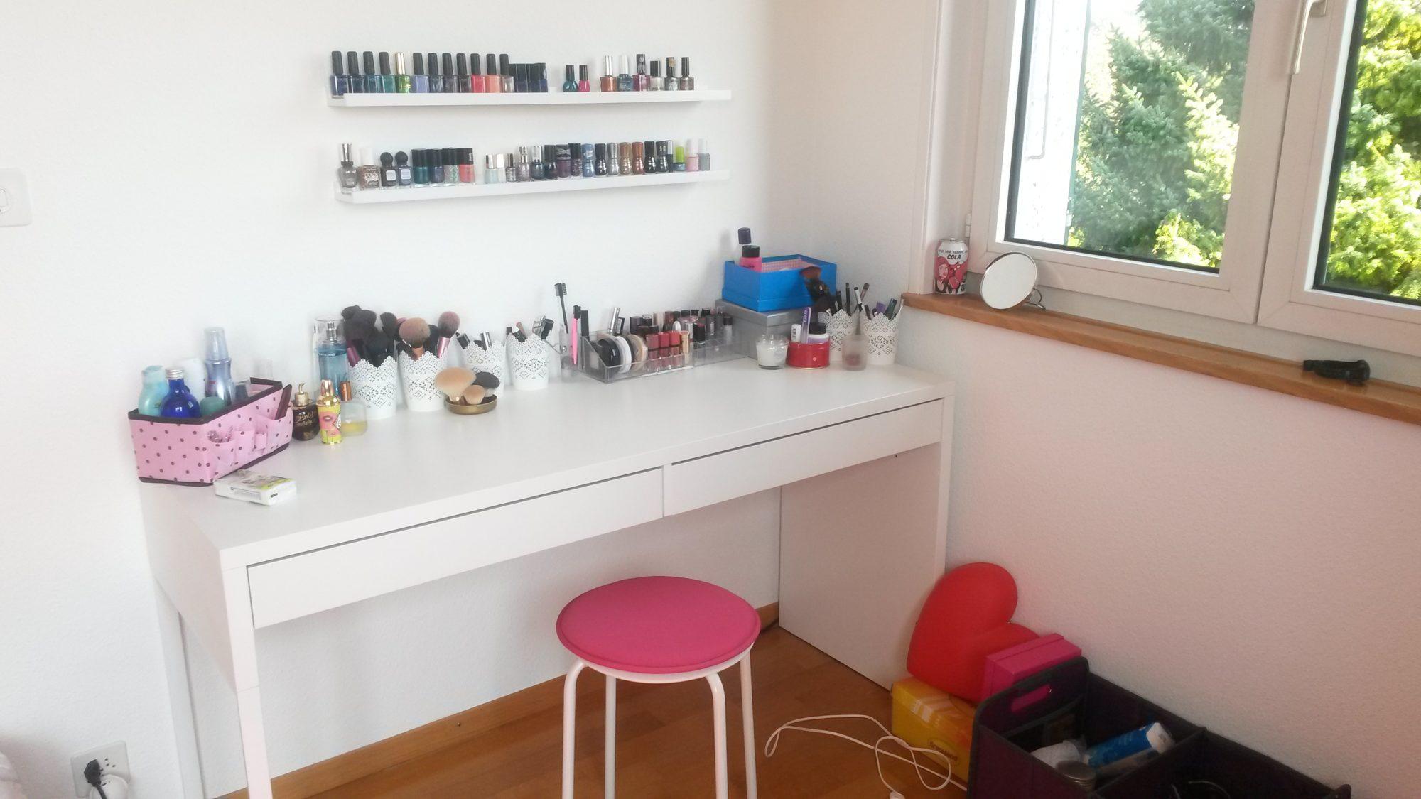 Où et comment je range mes produits de beauté ?  Réglisse & Myrtilles -> Produit Ikea