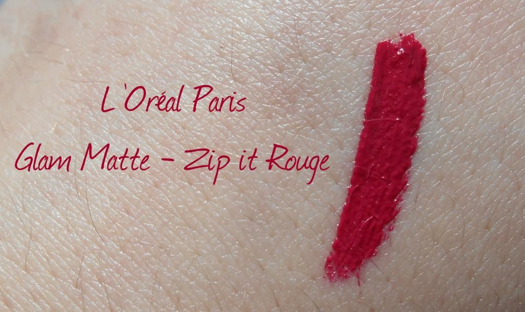 Intense Matte Gloss Glam Matte Zip It Rouge L'Oréal Paris