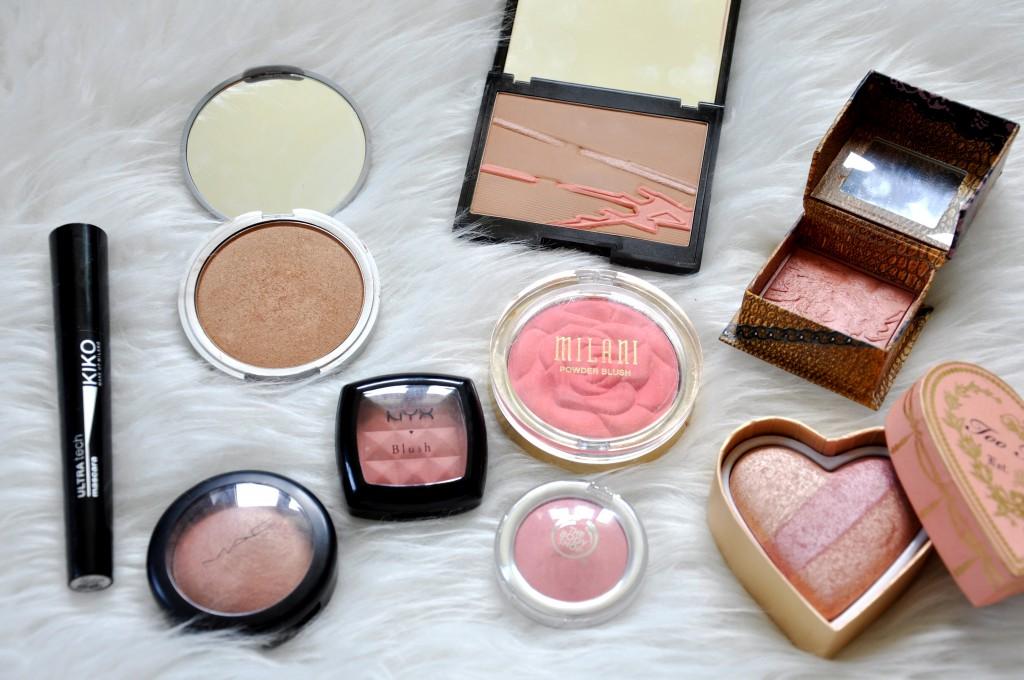 blush bronzers