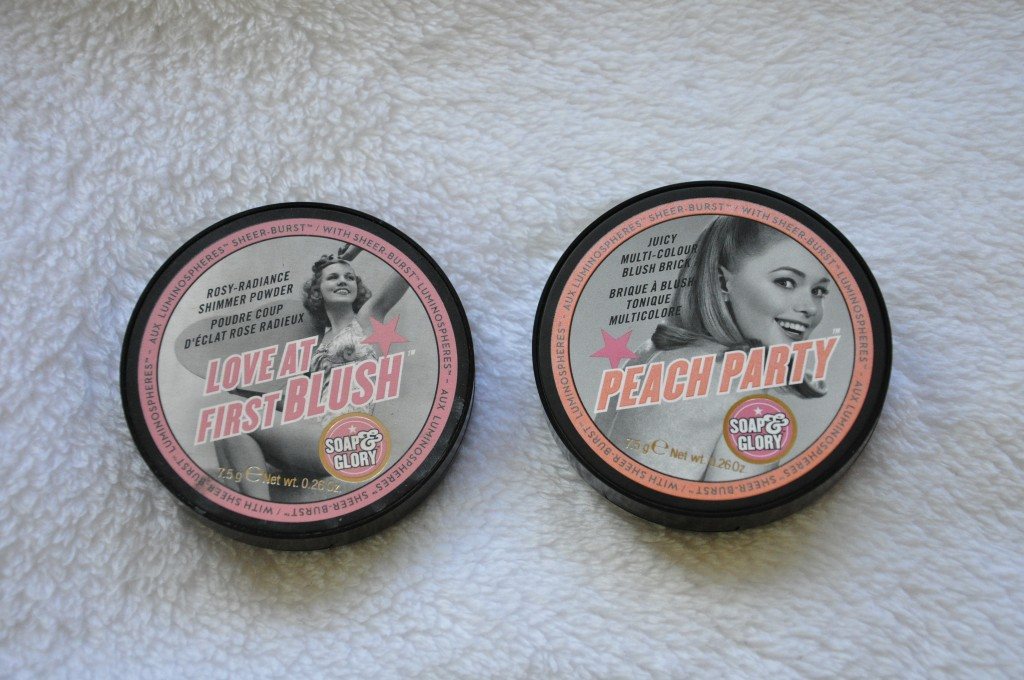 blush soap and glory