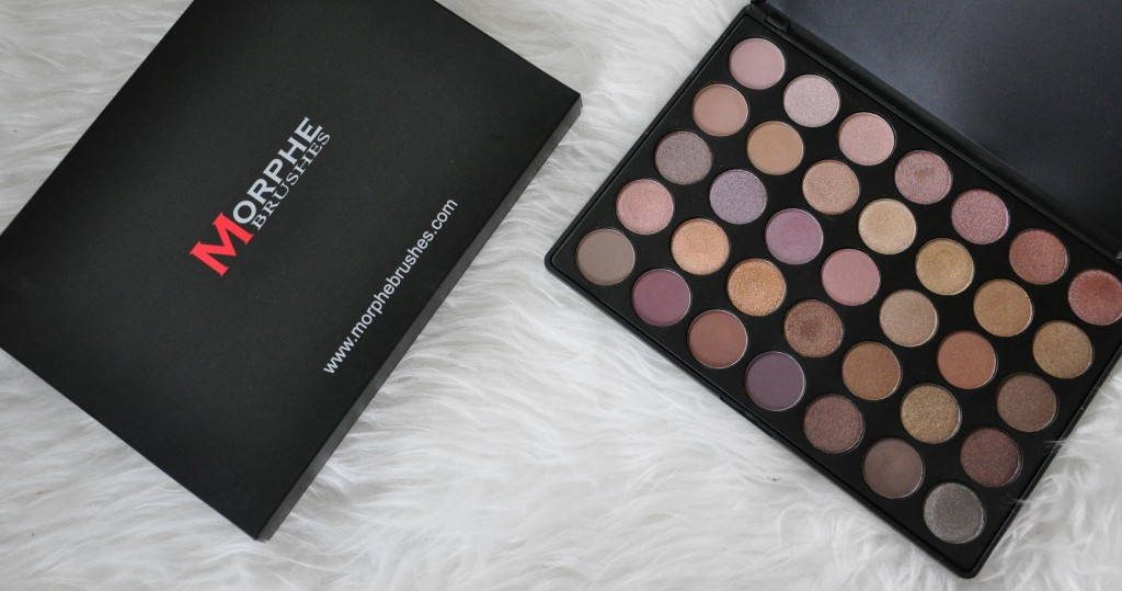 Morphe Brushes palette 35t