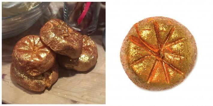 sparkly pumpkin lush suisse