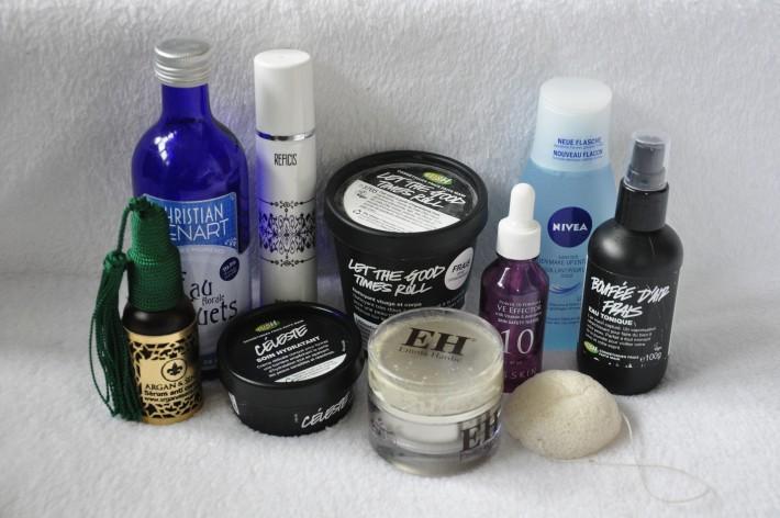 routine soin peau sèche et sensible