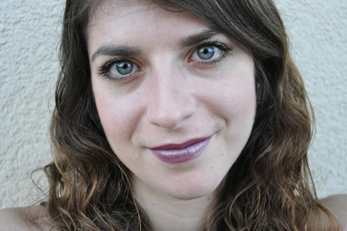 teinte aphrodite nyx lipstick swatch