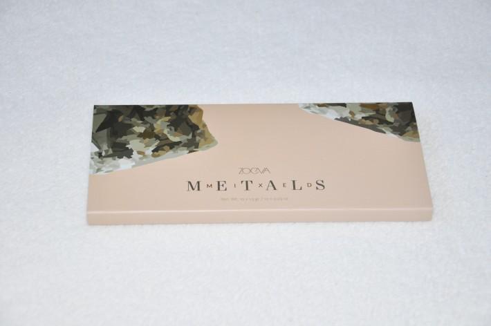 Palette Mixed Metals Zoeva