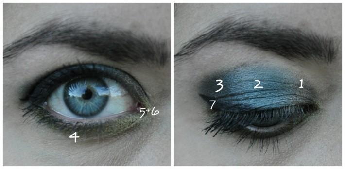 maquillage mixed metals zoeva palette