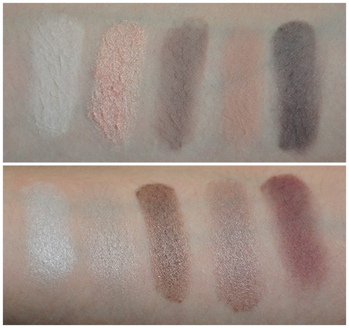 palette en taupe zoeva swatches