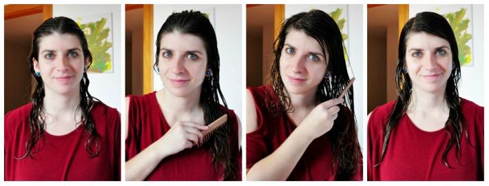 peigner cheveux bouclés