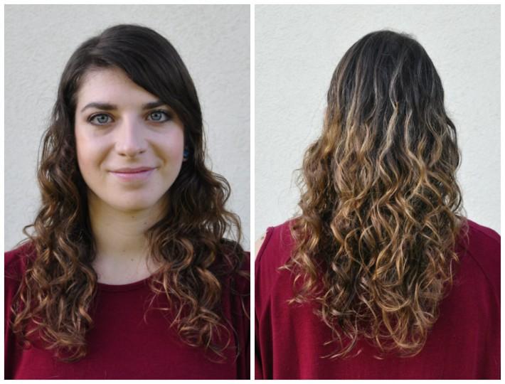 routine soin cheveux bouclés