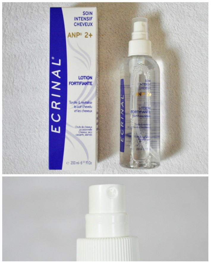 soin intensif cheveux lotion fortifiante ecrinal laboratoires asepta