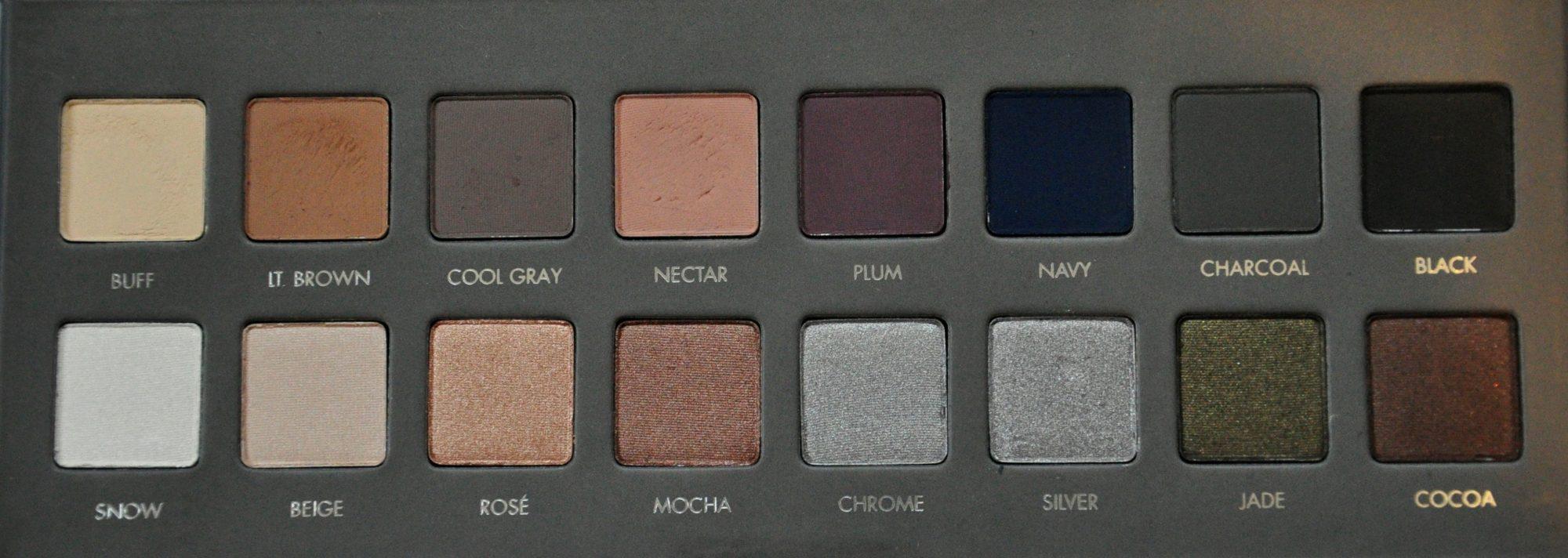 lorac pro palette 2 swatches