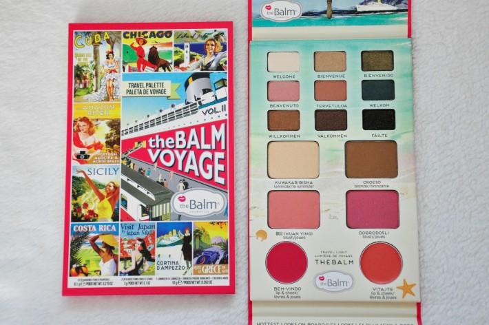 palette the balm voyage volume 2 the balm