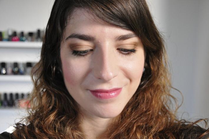 maquillage palette au naturel sleek