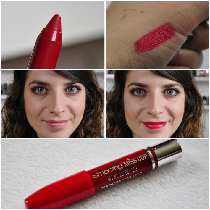 crayon lèvres gloss smoothy miss cop 12 cerise noire