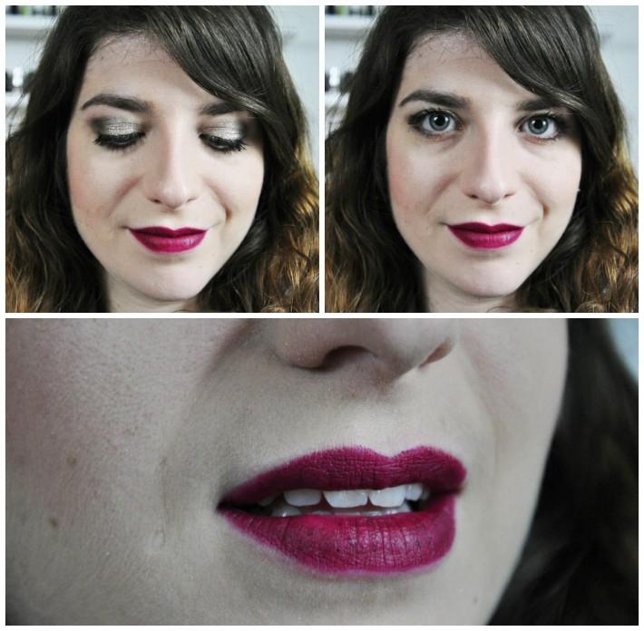 makeup matte flirty new year