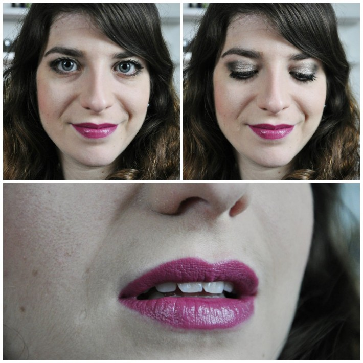makeup melted fig new year