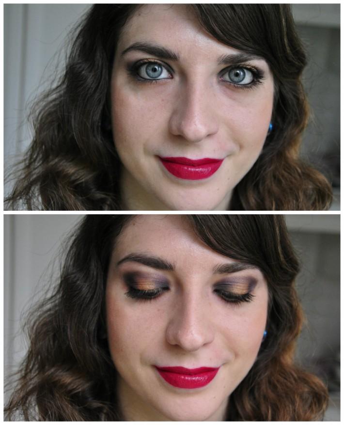 maquillage palette love is a story rouge à lèvres glam matte l'oréal