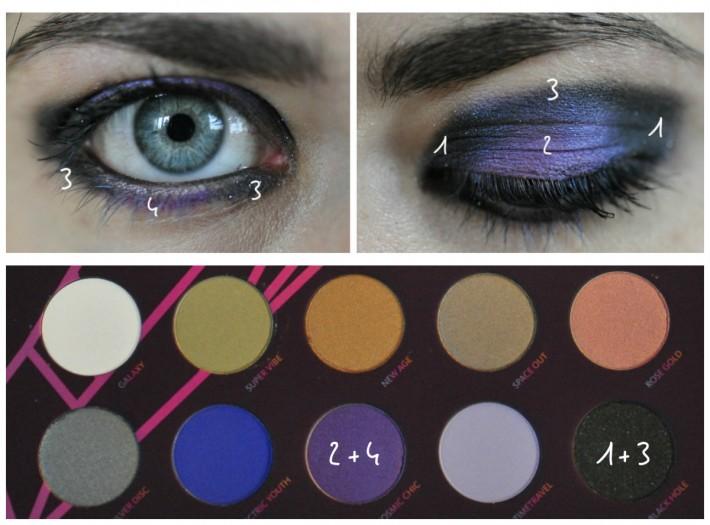 maquillage palette retro future zoeva_