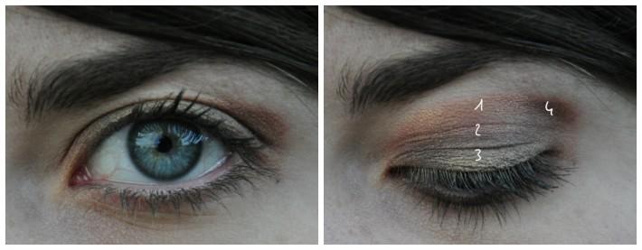 maquillage palette rose golden zoeva