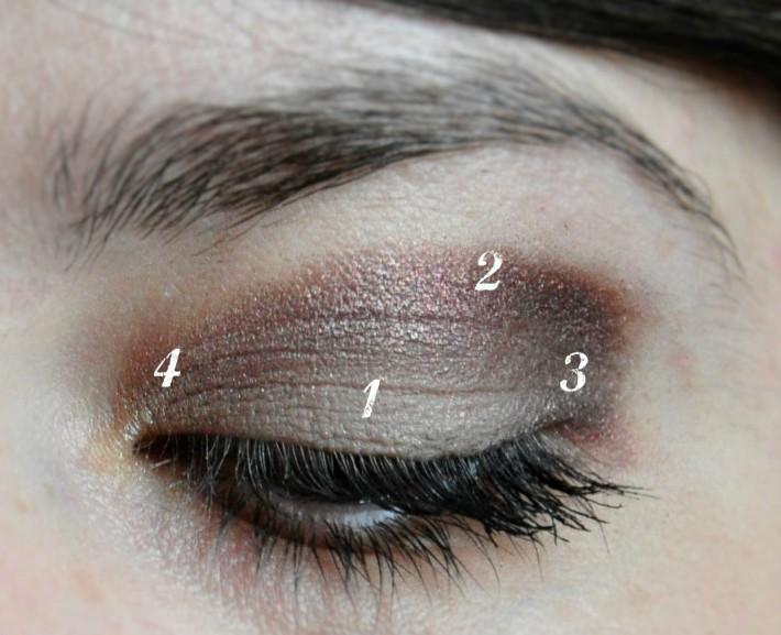 maquillage palette sleek au naturel