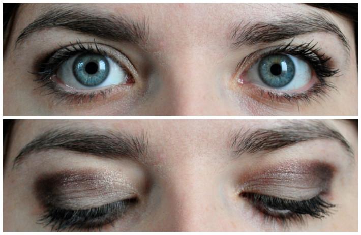 maquillage palette sleek au naturel makeup