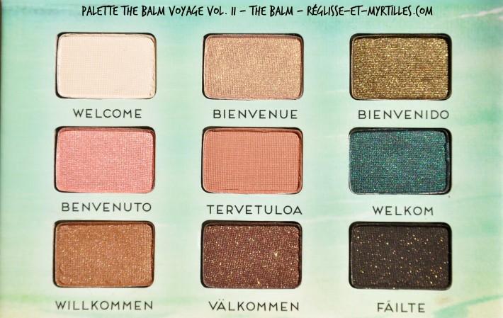 fards palette the balm voyage volume 2 the balm_reglisse et myrtilles