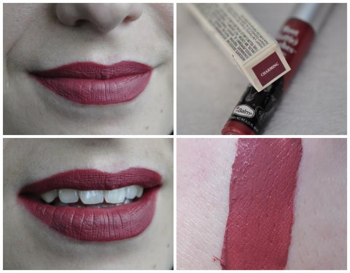 meet matte hughes_the balm_liquid lipstick_charming_swatches