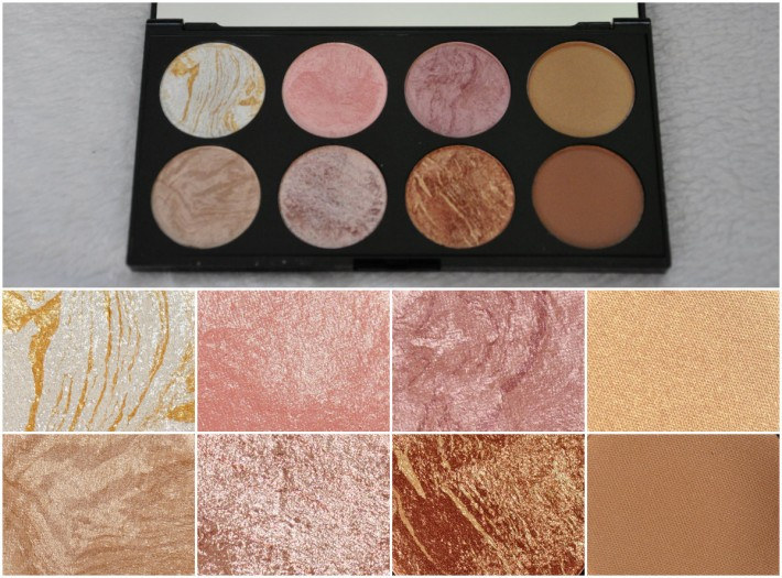 palette golden sugar makeuprevolution_ reglisse et myrtilles