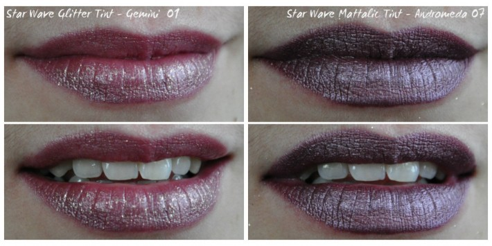 star wave mattalic glitter tint cailyn swatches
