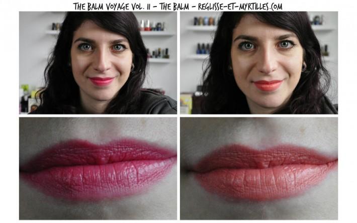 the balm voyage volume 2 swatches lipsticks_reglisse et myrtilles