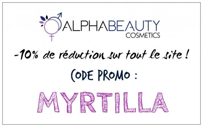 alphabeauty code promo réduction
