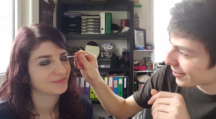 enlever maquillage