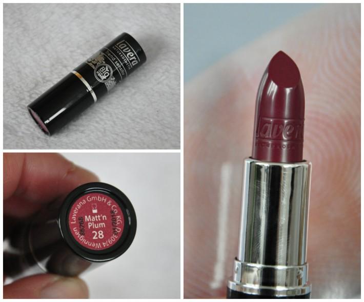 matt'n plum lavera lipstick rouge à lèvres