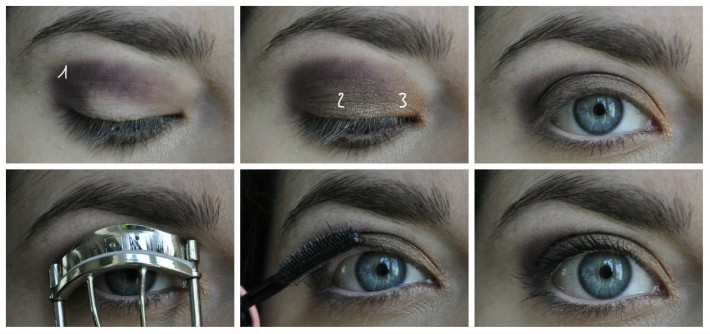 maquillage lorac, naked2 et cocoa blend