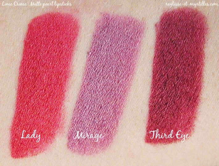 matte pearl lipstick_lime crime_lady_mirage_third eye_swatches_