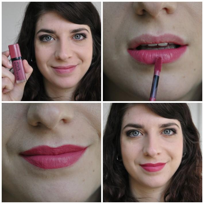 rouge à lèvres nude-ist bourjois velvet swatch