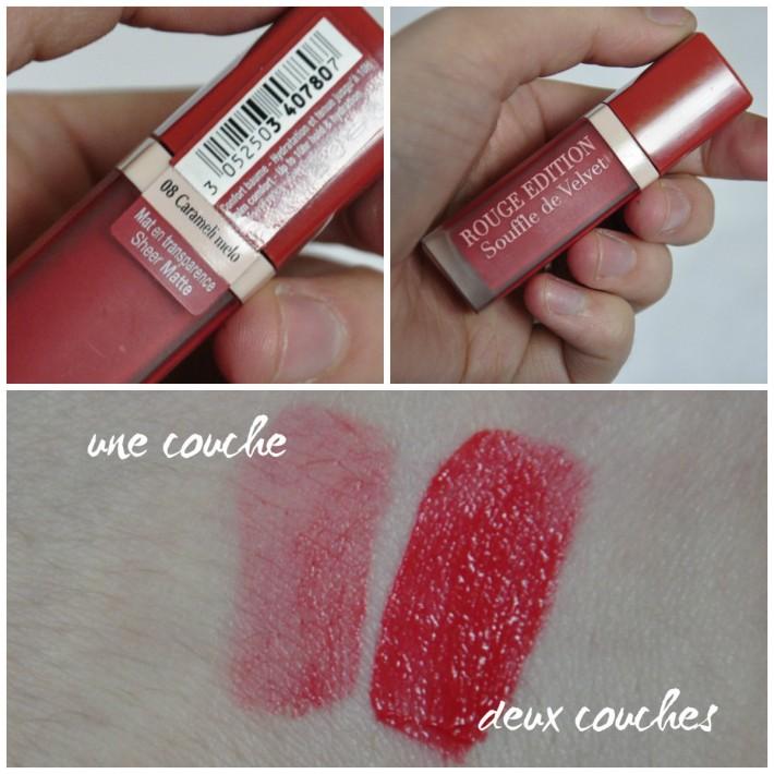 souffle_de_velvet_bourjois_carameli melo_rouge à lèvres_lipstick_swatches_reglisse et myrtilles