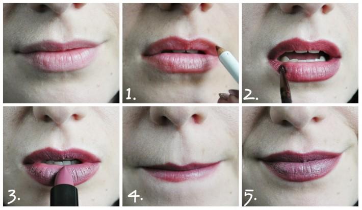 ombré lips_au feminin_beautiful box