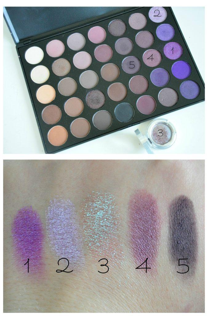 maquillage avec solstice et morphe brushes 35p