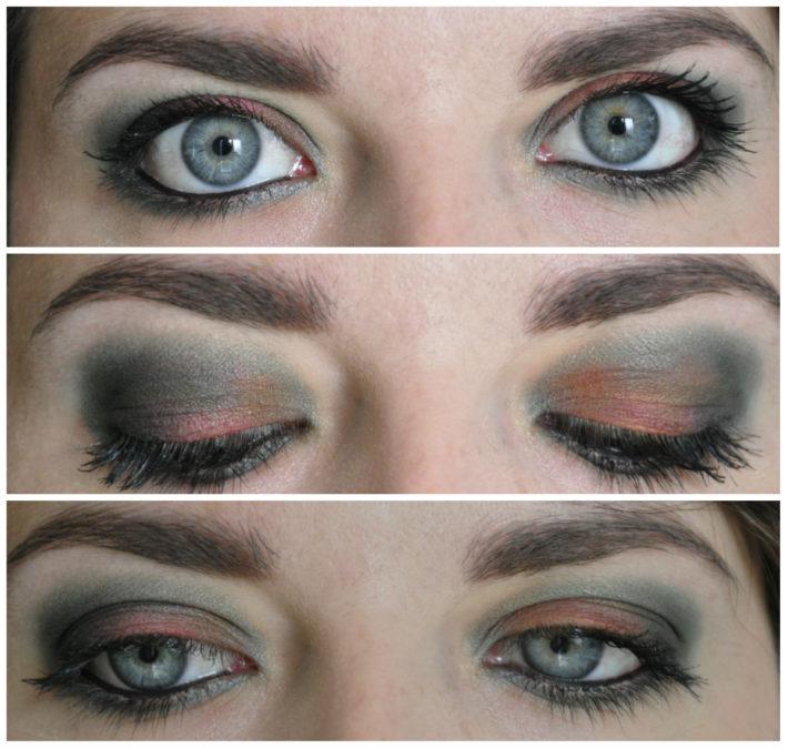 maquillage couleurs ciel