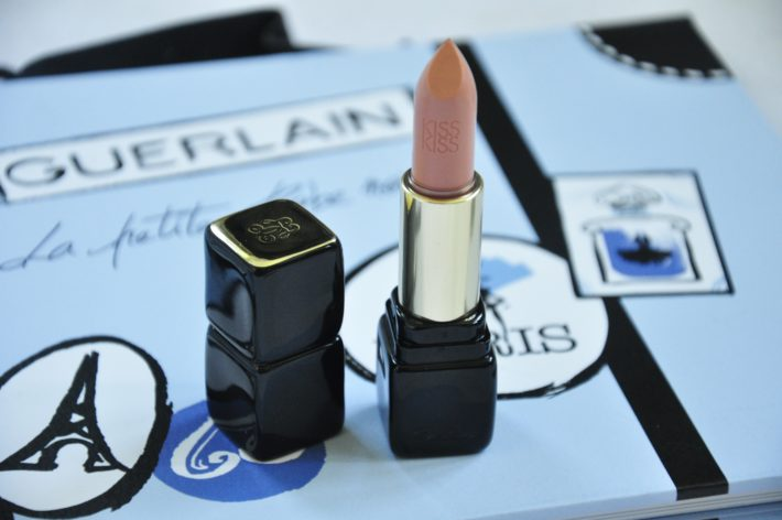 rouge à lèvres kiss kiss crème galbant guerlain fall in nude