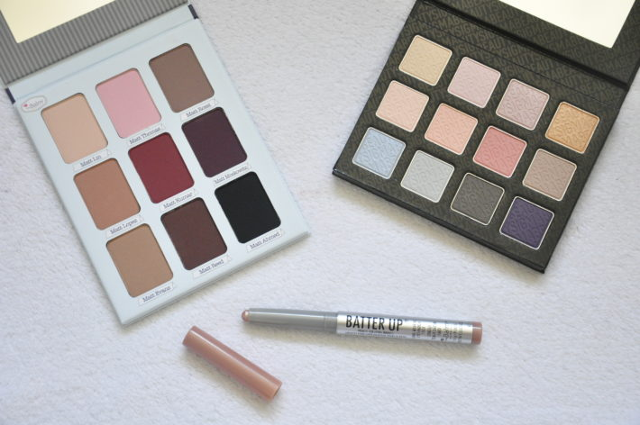 cosmetics obsession the balm meet matte trimony fall softly sigma batter up