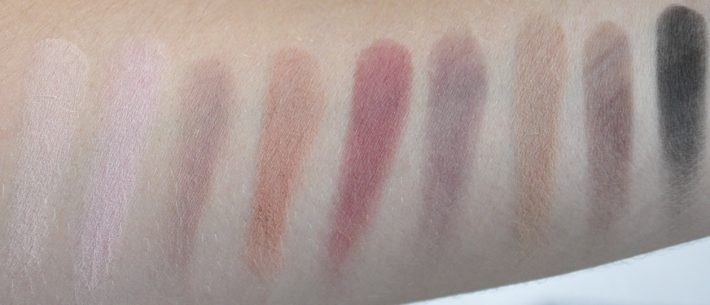 meet matte trimony the balm swatches
