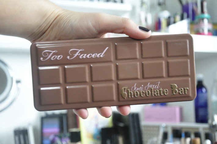 palette semi sweet chocolate bar too faced suisse