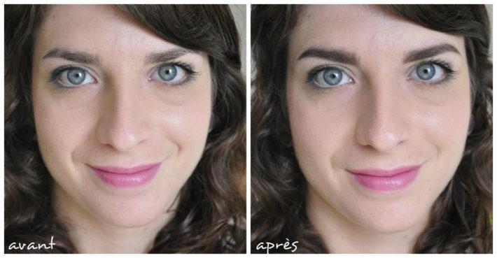 affect colour brow collection charmeup avant après prima e dopo