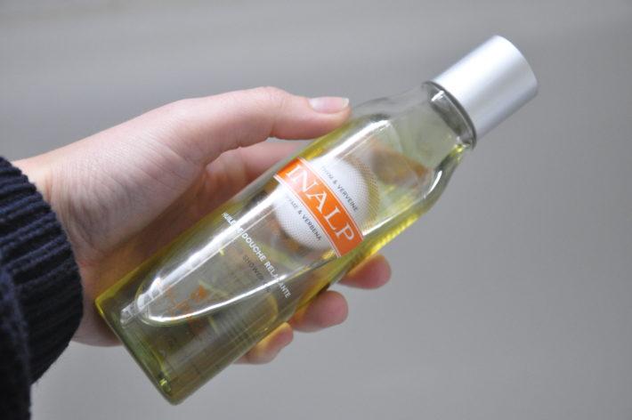 huile de douche inal lalpage