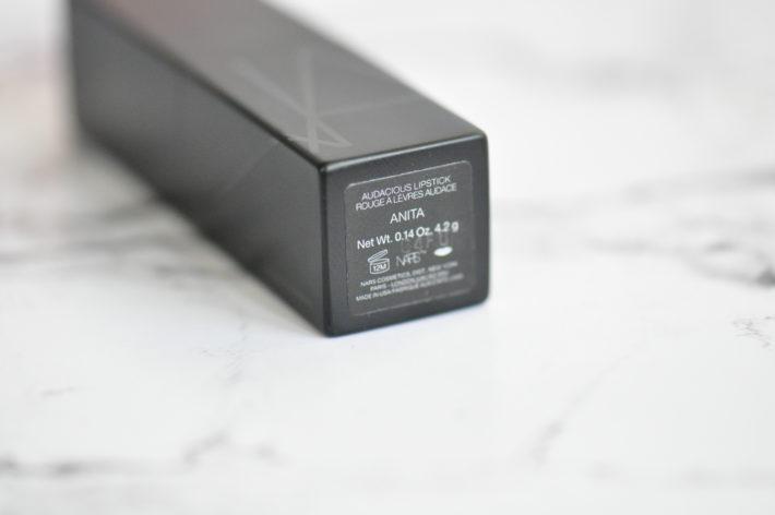audacious lipstick nars anita revue swatch
