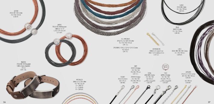 Il existe un catalogue virtuel sur le site de Jenny Lane où vous pouvez  déjà consulter les nouvelles collections et les bijoux qui se vendent en ce  moment !