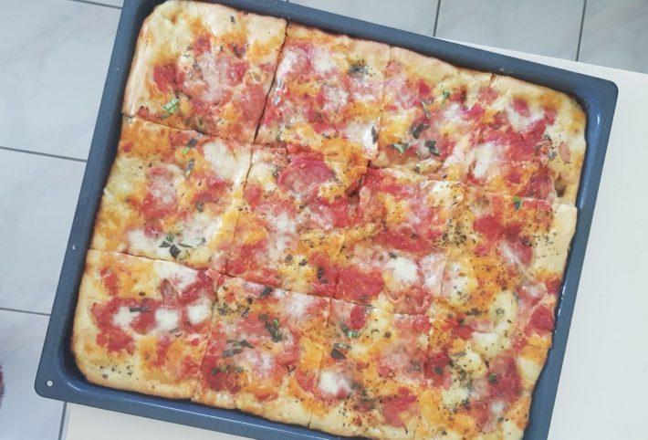 Ma Recette De Pizza Fait Maison A L Italienne Reglisse Myrtilles